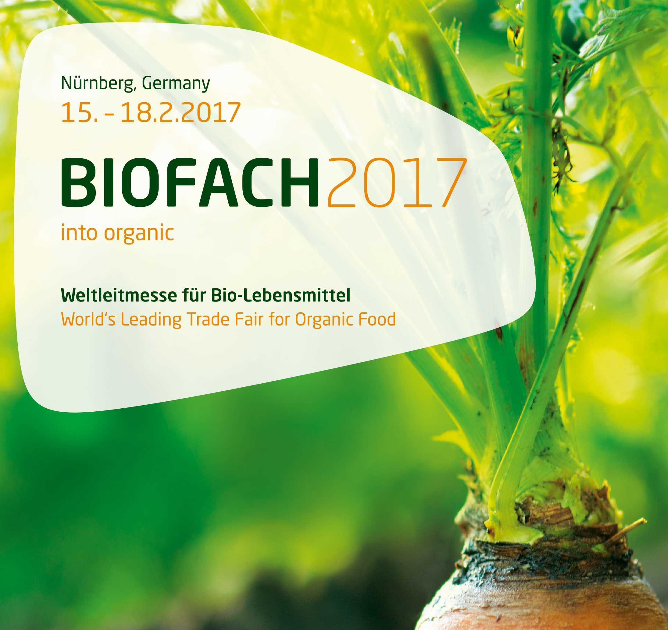 Biofach 2017 – into organic