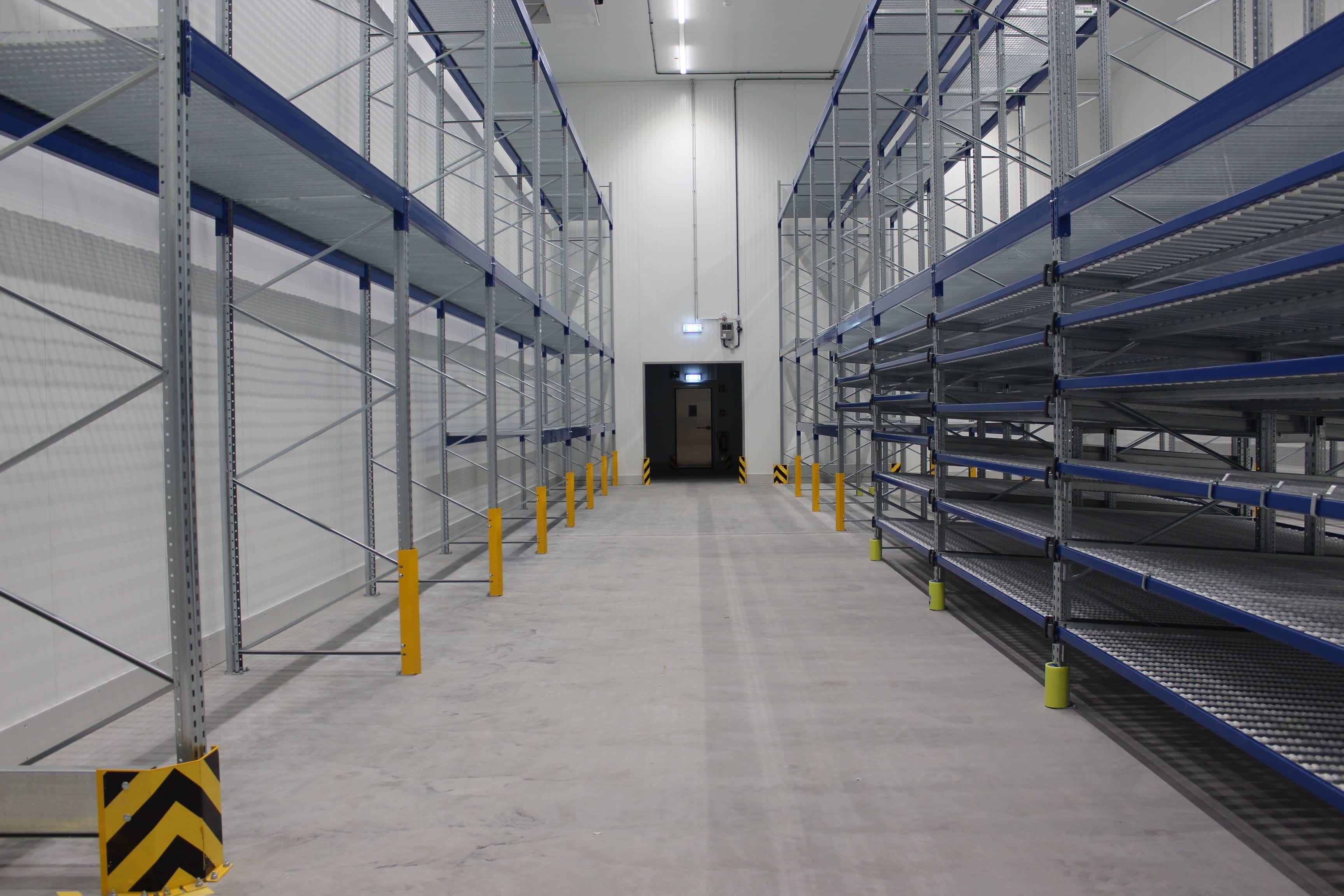Der 12. Bauabschnitt neigt sich dem Ende – Rinklin bezieht die neue Lagerhalle