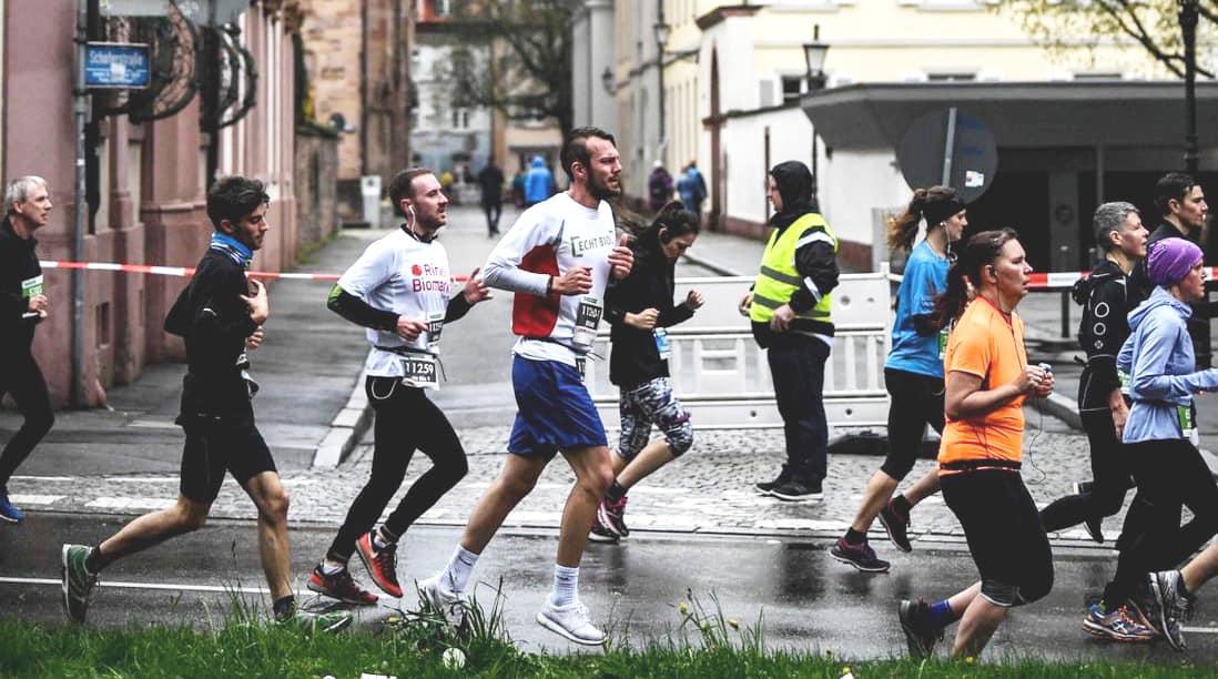 Das ECHT BIO-Team beim Freiburg Marathon 2019